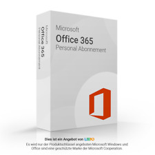 Microsoft Office 365 Personal 32/64 Bit ML | 1 Person | 1 Jahr