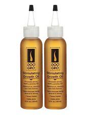 2 X Doo Gro estimular el crecimiento aceite promueve cabello fuerte y sano, creciente 135ml