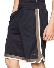 Under Armour Sportstyle NBA Mesh Shorts Black 1329281 001 Mens Size 2XL NEW!!
