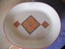 CORELLE SUN AND SAND ART SERVING PLATTER   LOVELY
