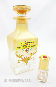 3ml White Musk Maliki (Superior) by Al Haramain - Traditional Perfume Oil/Attar
