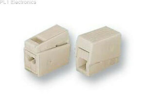 WAGO - 224-112 - CONNECTOR, LIGHTING, 2POLE, 2.5MM, WHT Price For: 5