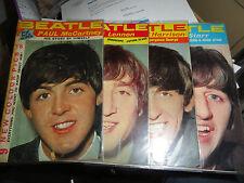 POP PICS SUPER     U.K.  Four Magazines One For Each Beatle   1964