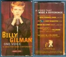 RARE BILLY GILMAN DEBUT EPK & VIDEO VHS 2000 EPIC MINT!