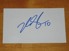 Henrik Samuelsson signed Phoenix Coyotes NHL Index Card JSA 2012 NHL Draft