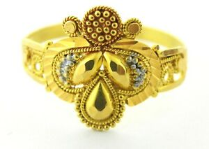 22ct Gold ladies ring code 1033
