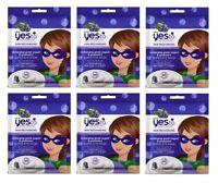 Yes To Super Blueberries Recharging Greek Yogurt & Probiotics Super Eye Mask 6Pk