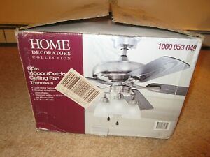 Home Decorators Collection Trentino II 60 in. Brushed Nickel Ceiling Fan