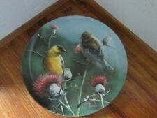 Birds of Your Garden Collection~1987 Knowles~The Goldfinch