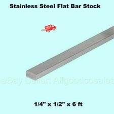 Stainless Steel Flat Bar Stock 14 X 12 X 6 Ft Rectangular 304 Mill Finish