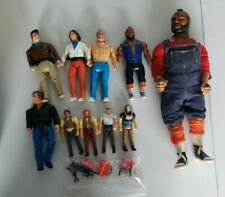 1983 Galoob A-Team Action Figure Lot of 10