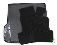 BMW X3 E83 2004-2010 Tailored black floor car mats + boot tray mat