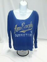Women's Small Blue American Eagle Knit Top