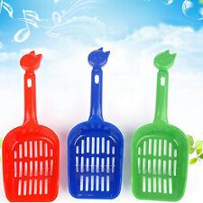 Cat Dog Pet Plastic Litter Tray Scoop Spoon Waste Scooper Poop poo Shovel Spade#