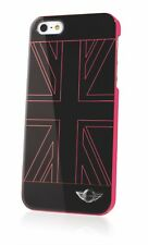 Genuine Mini Cooper UK Flag Pink Case Cover for iPhone 5 5s & SE