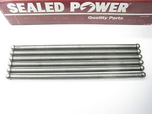 (6) Sealed Power RP-3176 Push Rods STANDARD 1963-1983 FORD 170 200 I6