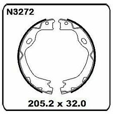 Jeep Grand Cherokee WK 2011 onwards REAR Handbrake Shoe SET N3272