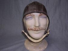 Modern Replica of 1930s Leather Helmet
