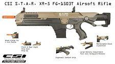 CSI Airsoft S.T.A.R. XR-5 FG-1503T Tan Advanced Battle Rifle AEG Space M4 STAR