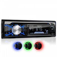AUTORADIO MIT CD-PLAYER BLUETOOTH FREISPRECHEINRICHTUNG USB SD MP3 AUX 1DIN
