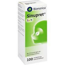 SINUPRET Saft   100 ml   PZN 605588