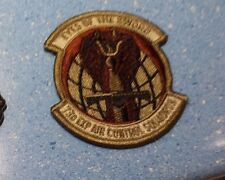 AIR FORCE PATCH, 73RD EXPIDITIONARY AIR CONT SQN , SCORPION,W/HOOK TAPE FASTENER