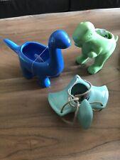 Dinosaur Ceramic Planters