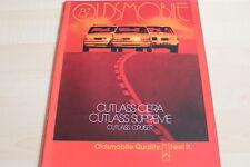 121600) Oldsmobile Cutlass Ciera Supreme Cruiser - Übergröße - Prospekt 08/1986