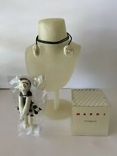 Pre Owned Bundle Marni Jewelry Pendant Neck Display Bust Form Necklace Stand