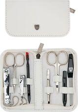 Manicure Pedicure Set 8 pc Clipper Solingen German Nail Skin cuticle Genuine Kit