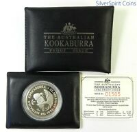 1992 KOOKABURRA PROOF SILVER Coin in Wallet