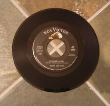 "45 RPM Rockabilly By Rusty & Doug (Kershaw), ""My Uncle Abel"" on Rca Victor"