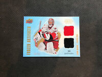 2008-09 UPPER DECK ARTIFACTS CAM WARD FROZEN DUAL JERSEY SWATCHES #ed 50/75