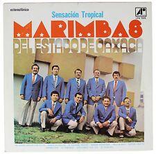 MARIMBAS DEL ESTADO DE OAXACA Sensacion Tropical SIGNED LP Record 60s Mexico