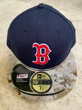 New Era Boston Red Sox Camo Hat Size 7 1/4