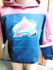 NHL Colorado Avalanche NEW Hooded Sweatshirt Youth Sizes S-XL NWT