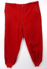 Vintage 50s WesternField Hawthorne Lumberjack Pants 38x31 All Wool Red Hunting