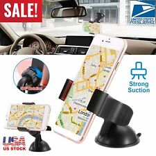 Universal Car Windshield&Dash Clip Cell Phone Mount Holder Cradle Pda Gps Stand