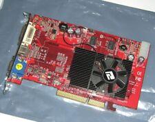 POWERCOLOR ATI RADEON x1650 512MB AGP Grafikkarte AMD X1650Pro AGP8x DVI VGA DX9