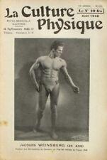 Magazine La Culture Physique n°655-1948-JACQUES WEINSBERG-MELOTTE-VINTRE-DEMEY-