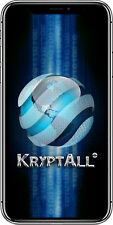 KryptAll Secure Encrypted Counter Surveillance Series X w/ No Call Records