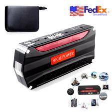 Portable 68800mAh 12V Car Jump Starter Battery Power Emergency USB Charger Light
