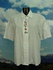 C&A Dirndlbluse mit Stickerei und leichtem Stoff Trachtenbluse Bluse TB877 Gr.40