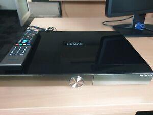 HUMAX HMS-1000T HD Recorder PVR 1TB Quad 4 Tuner 1080p Wi-Fi w/ Remote