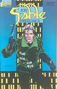 JON SABLE FREELANCE #1-56 FIRST COMICS SET MIKE GRELL  36 COMICS