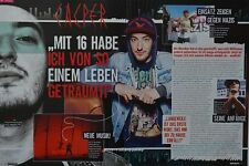 CASPER - 2 Seiten Bericht - Rapper Clippings Artikel Fan Sammlung NEU