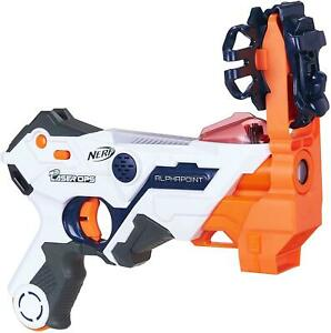 Nerf Laser Ops Pro AlphaPoint Blaster Bluetooth Lazer Tag Mobile Battle Ready