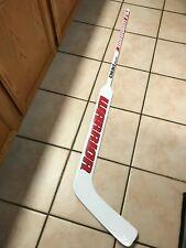 "New Nhl Warrior Custom Pro Stock Goalie Hockey stick Eddie Lack Lh Curve 27"""