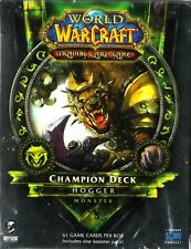WOW WORLD OF WARCRAFT Champion Deck - Hogger MONSTER NEW SEALED ENG
