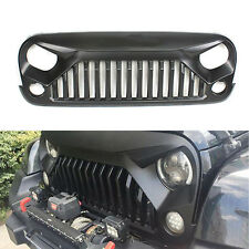 Upgrade Angry Bird Front  Matte Grill Grille For Jeep Wrangler 07-17 JK 2D/4D